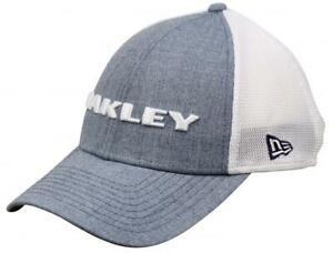 Oakley Men's Heather New Era Snap back Cap - Ozone (Blue)  - One Size Fits Most