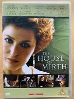 The House of Mirth DVD 2000 Edith Wharton Drama Classic w/ Gillian Anderson
