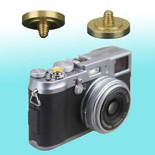 Goldenrob Soft Shutter Release Button JJC Brass FUJIFILM X10 Leica M-A Nikon Df