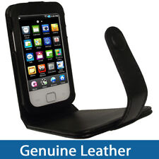 Genuine Leather Case for Samsung Galaxy Player 50 Black MP3 Cover Holder
