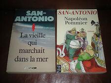 SAN ANTONIO - LA VIEILLE QUI MARCHAIT DANS LA MER + NAPOLEON POMMIER
