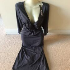 phase eight new tag £69 size 18 slip on dress stretch grey