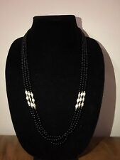 women necklace Onyx Bead