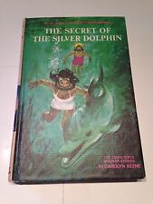 The Secret of The Silver Dolphin - Dana Girls Mystery - Carolyn Keene 1965 - 1st