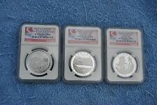 Canada, 2015, $15, Franklin Carmichael 3 coin NGC set, PF70 UC, Early Releases