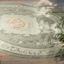 Blanc Mariclò Collezione DORIA Tappeto ovale 175 x 240 cm Verde