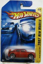 HOT WHEELS ~ 2007 NEW MODELS #007 ~ DODGE CHARGER SRT8