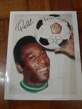 Pelé signed photo