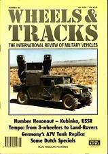 WHEELS & TRACKS 35 WW1 GERMAN A7V TANK_HUMBER HEXONAUT_KUBINKA_TEMPO MV & OTHER