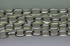 925 Silber Kette für Charms, Länge 80 cm, Glied 2,5 mm