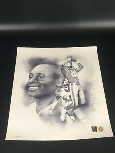 NFL San Francisco 49ers Jerry Rice Lithograph by Bill Dotson