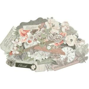 ROSABELLA Collectables Scrapbooking 40 Paper Die Cuts KAISERCRAFT CT954 New
