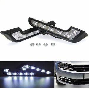 2x LED Tagfahrlicht L-FORME-Prüfzeichen Mercedes L Form Xenon Weiß