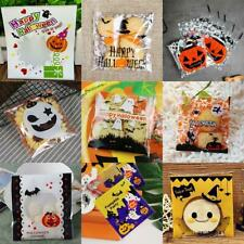 Halloween Candy Bags Cute Pumpkin Ghost Gift Bag For Cookies Snack Food Decor