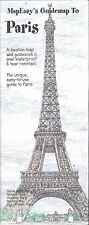 MapEasy's Guide map to Paris, France (2010)