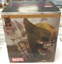 WOLVERINE MARVEL ZOMBIES MILESTONE STATUE Diamond Select Figure Comic bust X-Men