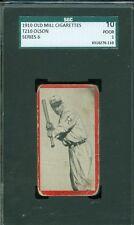1910 T210-6 Old Mill - Olson - Richmond (Blue Grass League) - SGC 10