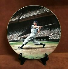 "Bradford Exchange Great Moments In Baseball ~ JOE DiMAGGIO ""The Streak"" Plate"