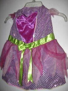 preowned medium DOG Pink DRESS COSTUME princess DRESS ONLY