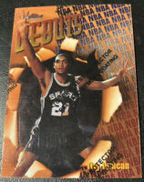 1997 - 1998 Topps Finest Tim Duncan San Antonio Spurs #101 Basketball Card