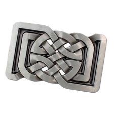 Vintage Celtic Pattern Belt Buckle Rectangle Indian Novelty for Leather Belt