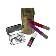 ESEE Knives Blade Maintenance Kit in Khaki Pouch MAINT-KIT
