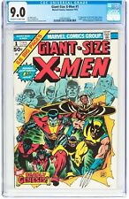 1975 Giant-Size X-Men 1 CGC 9.0! 1st app of the new X-Men! WORLDWIDE SHIP!