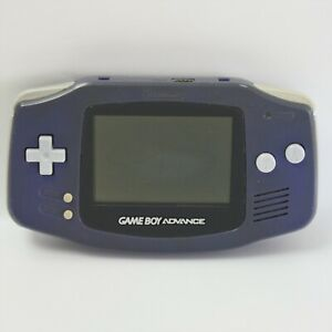 JUNK GameBoy Advance VIOLET Console AGB-001 Not working No cover Nintendo 13 gba