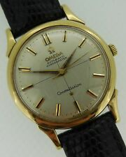 Omega Constellation Automatic Solid 14kt Yellow Gold Cal. 551 Ref: 14381 2 SC