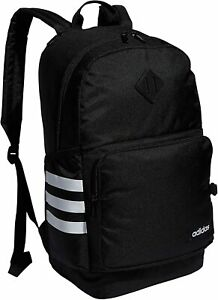 adidas Classic 3S 4 Backpack, Black/White, One Size 5152950 New with tag