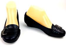 LifeStride Womens Mindy Flats Size 6 Navy Blue Comfort Slip On Shoes