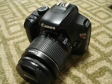 Very Nice Canon EOS T3 1100D 12MP Digital SLR Camera Body with 18-55mm IS Lens