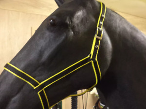 LIBBYS  DRIVING  UNDER HALTER with coloured edging