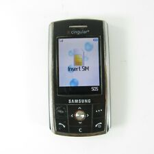 New ListingSamsung Sgh D807 - Black ( At&T / Cingular / Gsm ) Cellular Slider Phone
