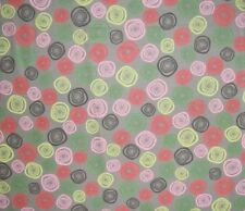 Wizard Spells Swirls Circles Comic Confusion Action on Cotton Fabric Last Yard