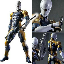 Play Arts Kai Metal Gear Solid Cyborg Ninja Gray Fox Action Figure Party NO BOX