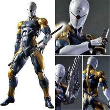 Play Arts Kai Metal Gear Solid Cyborg Ninja Grey Fox Action Figure Figurine 28cm