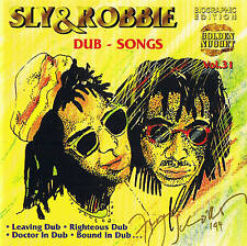 "Sly & Robbie "" Dub Songs "" CD New & orig. Box Cosmus DSB"