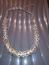 Silver coloured Chunky chain necklace