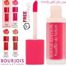 New Bourjois Rouge Edition Souffle de Velvet Sheer Matte Lipstick 4 Variations