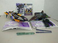 Transformers Energon Lot - Sharkticon & StarScream Action Figure w/ Missiles