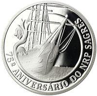 Portugal Gedenkmünze 2012 Segelschulschiff Sagres 2,5 Euro Münze im Etui