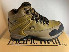 NEW Men's Pacific Trail Rainer Waterproof Hiking Boots Camel Size 7