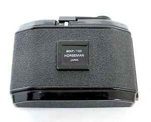 Horseman 8EXP/120 6x9 Roll Film Back Holder for VH,VH-R,985,980,970 from Japan