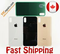 iPhone Xs Max Battery Rear Glass Lens Cover Housing Back Door Replacement + Tape