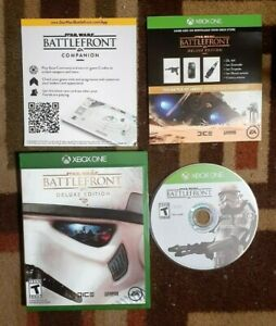 Star Wars Battlefront Deluxe Edition (Microsoft Xbox One)  VG Shape & Tested