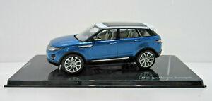 Original Range Rover Modèle Evoque Mauritus Bleu 5 Portes 1:43 51LRDCA5EVOQ
