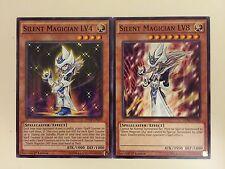 """SILENT MAGICIAN"" LV4 & LV8 - 2 Card Set - (DPRP-EN019-020) - 1st - Yu-Gi-Oh"