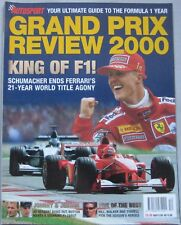 AUTOSPORT magazine Grand Prix review 2000