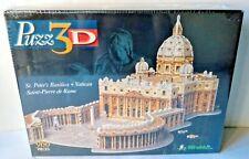 Puzz 3D Puzzle St Peter's Basilica Vatican Rome Jigsaw 966 Pieces Wrebbit Sealed